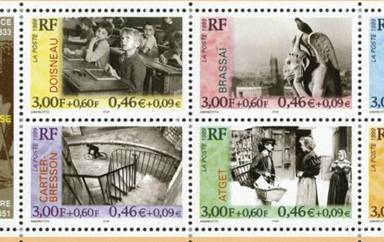 Francobollo Francia Grands photographes Français 10 luglio 1999 Booklet
