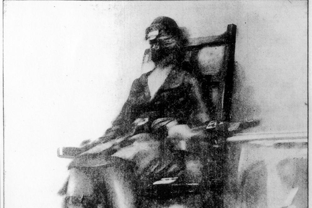 Quell esecuzione 13 gennaio 1928 for Sedia elettrica esecuzione reale